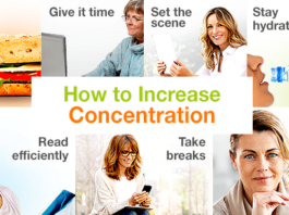 How to boost concentration of the mind