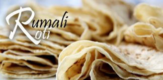 How to make Roomali ROTI at home