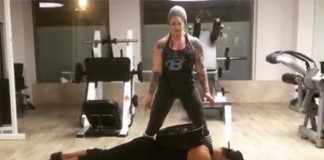 sushant sing rajput workout video going viral on social media