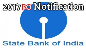 state bank of india po recrutiment