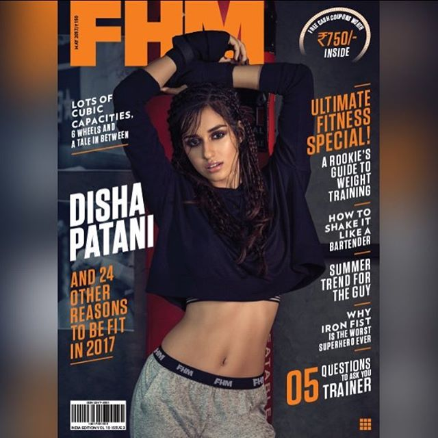 Disha Patani did hot photoshoot for fashion magazine