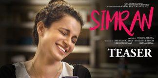 Kangna Ranaut's upcoming movie Simran teaser Launched