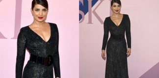 once again on red carpet priyanka chopra shows her hotness