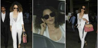 Kangana Ranaut came back to india from london