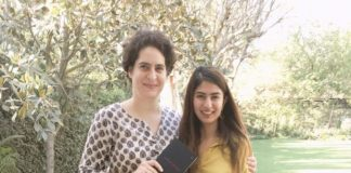 Gurmeher Kaur trolled on social media by gifting her book to Priyanka Gandhi