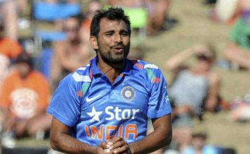 Shami again place in BCCI contract list