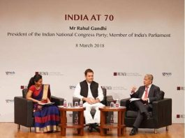 Rahul Gandhi's speech in Singapore is being appreciated across the country