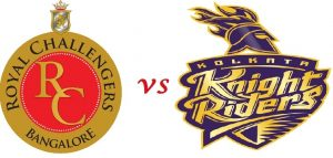 KKR V/S RCB TODAY'S MATCH STATISTICS AND ABOUT GAME PLAY