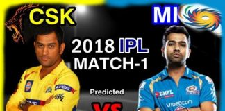 The Well Predicted Match Between Mumbai Indians And Chennai Super KIngs
