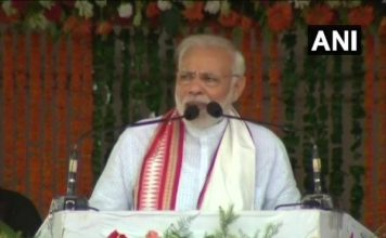 pm modi launched survey on completion of 4 years of his govt